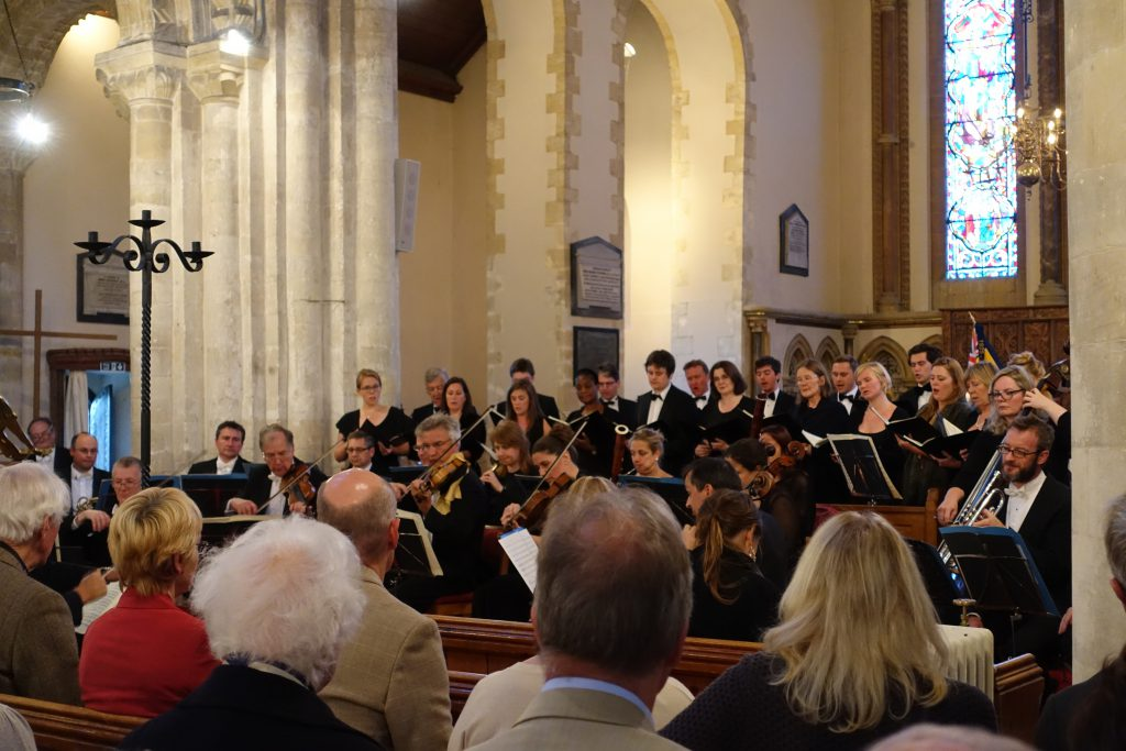 The Shipley Arts Festival performing at Steyning Parish Church
