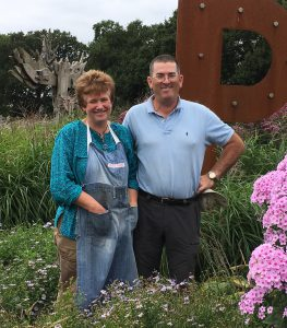 Sussex Prairie garden designers Pauline and Paul McBride