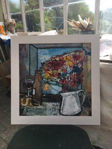 A Still life in Alison Milner Gulland's studio