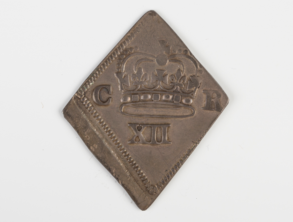 A Charles I Newark besieged shilling dated 1645