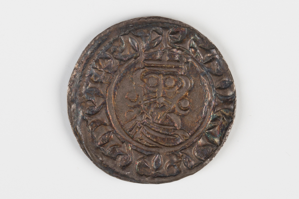 An Edward the Confessor (1042-1066) hammered penny from the Steyning Mint