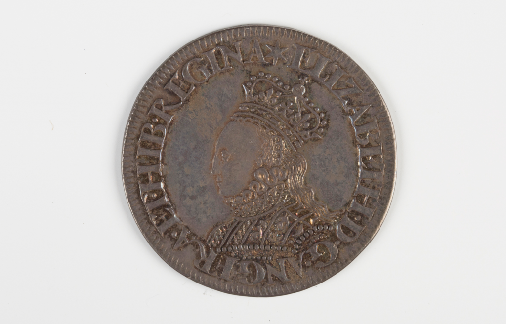 An Elizabeth I milled issue shilling