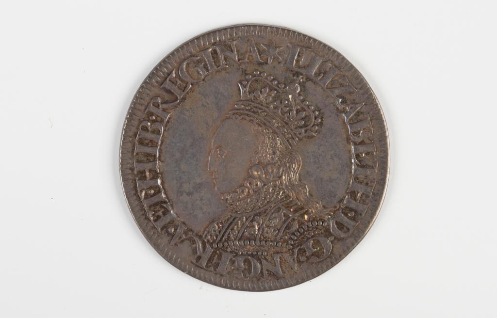 An Elizabeth I milled issue shilling